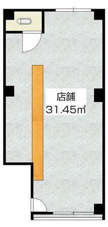図面:淀川区十三東2、居酒屋居抜き